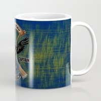 ravenclaw Mugs featuring Ravenclaw team captain quidditch by JanaProject