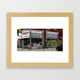 Daniel's Art Supplies Framed Art Print