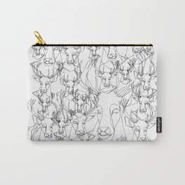 Stag outline Carry-All Pouch