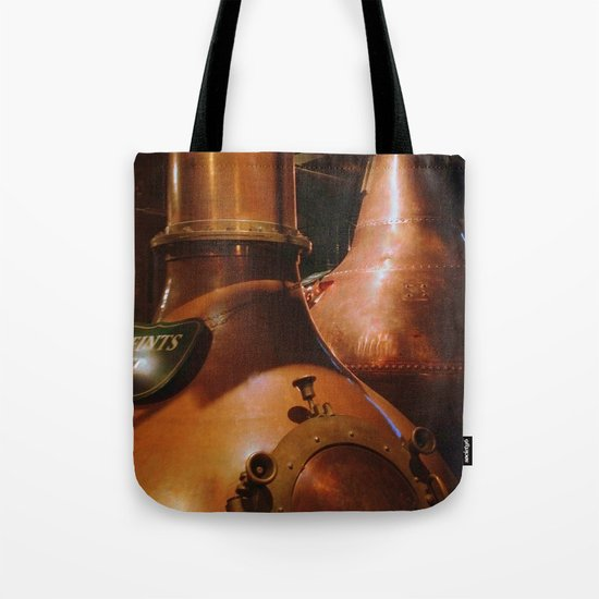 Copper and Whiskey Tote Bag