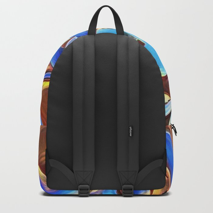 Painted Forget Me Nots Backpack