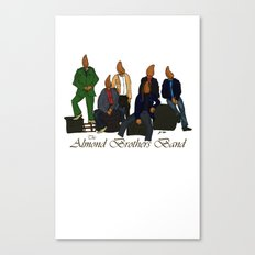 The Almond Brothers Band Canvas Print