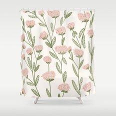Rose Garden Pattern Shower Curtain