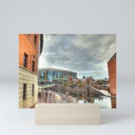 Barclaycard Arena and the Malt House Pub Mini Art Print