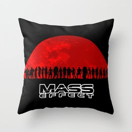 Mass Effect Throw Pillow