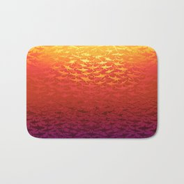 Sharks At Sunset Bath Mat