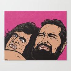 Samurai Fight Canvas Print