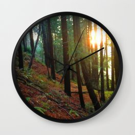 Talking To The Trees Wall Clock