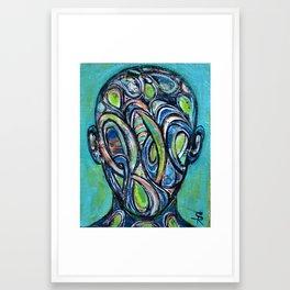 Mind Space Framed Art Print