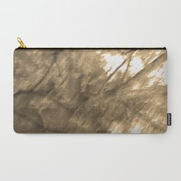 Treeage I - Sepia Carry-All Pouch