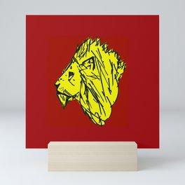 Animal Series - Lion Mini Art Print