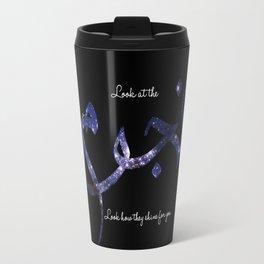 Stars - Arabic Typography Travel Mug