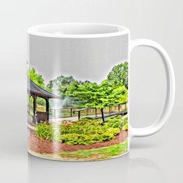 City Park - Photo converted to painting Coffee Mug