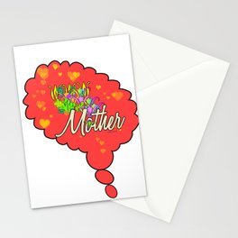 THINKING OF MOTHER Stationery Cards