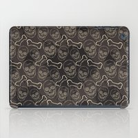 evil dead iPad Cases featuring Evil skull by AldanNi