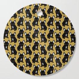 Brindle French Bulldog Cutting Board