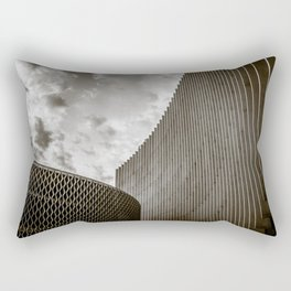 Texturized Brutalism Rectangular Pillow