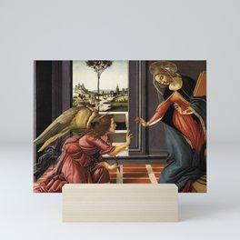 Sandro Botticelli - Cestello Annunciation Mini Art Print