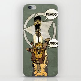 Bombs Away  iPhone Skin