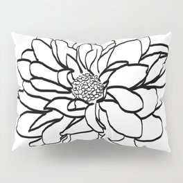 Flower (white) Pillow Sham