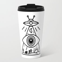 They Watch Us Travel Mug
