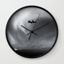 KISS HER MADLY Wall Clock
