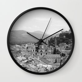 Salzburg, Austria Wall Clock