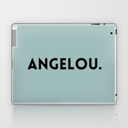 Maya Angelou Laptop & iPad Skin