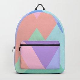 Geometric Pattern in Soft Hues Backpack