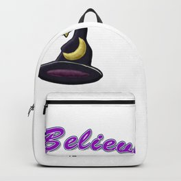 Witch, I Believe in Witches Backpack