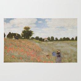 Claude Monet's Coquelicots: La Promenade Rug