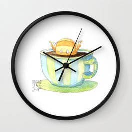 Coffee monster Wall Clock