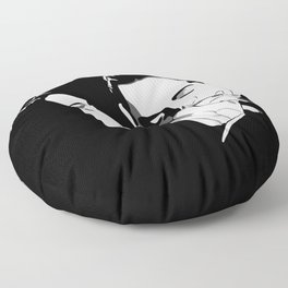 Gomez & Morticia Floor Pillow