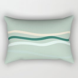 sea is pink Rectangular Pillow