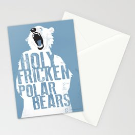 Holy Fricken Polar Bears Stationery Cards