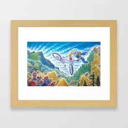 Crankworx Framed Art Print