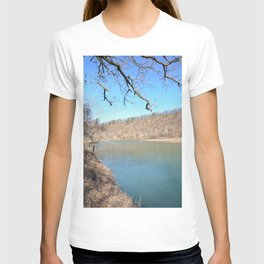 Home of Ancient Hunter-Gatherers --- The Illinois River, No. 5 T-shirt