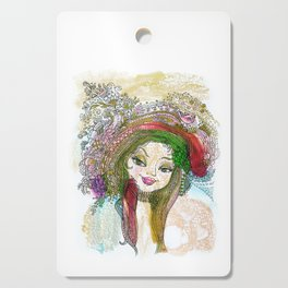 Coquette Cutting Board