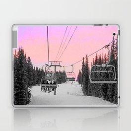 Ski Lift Sunset Shot on iPhone 4 Laptop & iPad Skin