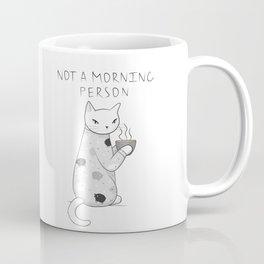 Morning Pajamas Cat Coffee Mug