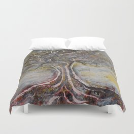 Ancient Wisdom Duvet Cover