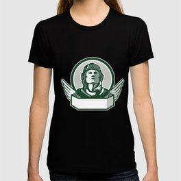 Pilot World War One Circle Retro T-shirt