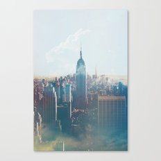 Low Clouds in NYC Canvas Print