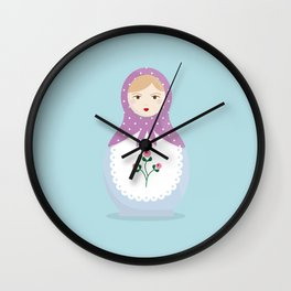 MATRYOSHKAS SERIES - NINA Wall Clock
