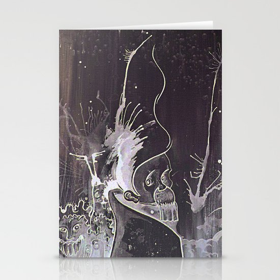 Black and White and a Rubin Stationery Cards