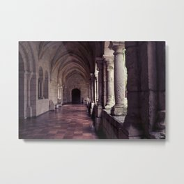 Silent Monastery  Metal Print