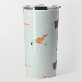 Skater Girl Travel Mug