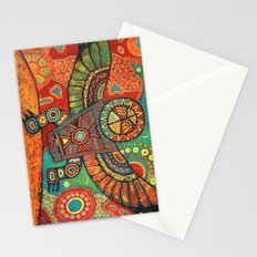 Shaman Dance: Day and Night Stationery Cards