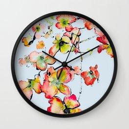 late missouri summer Wall Clock