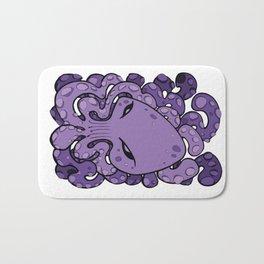 Octopus Squid Kraken Cthulhu Sea Creature - Ultra Violet Bath Mat